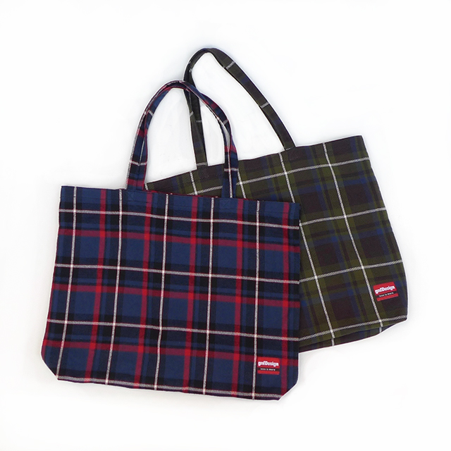 Flannel Big Tote
