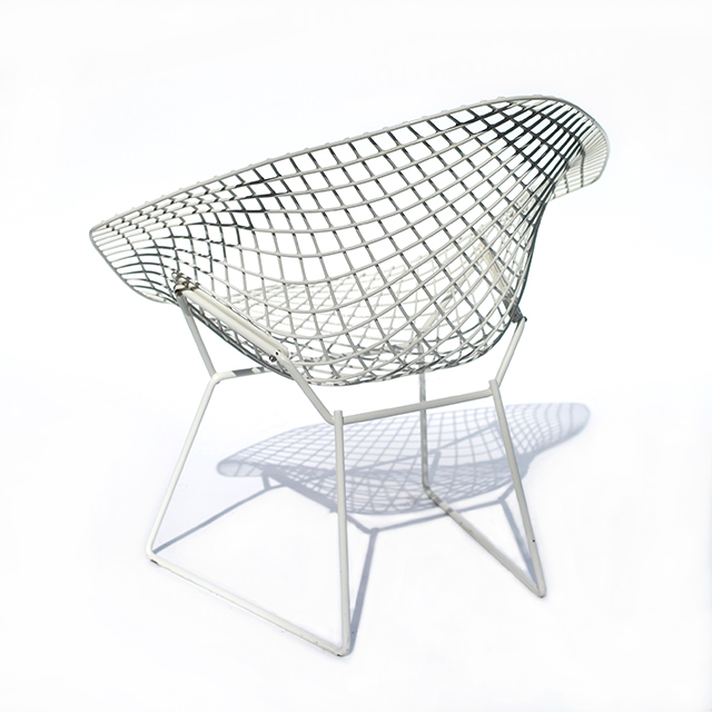 H.Bertoia Wire Mesh Small Diamond Chair (1955) #5