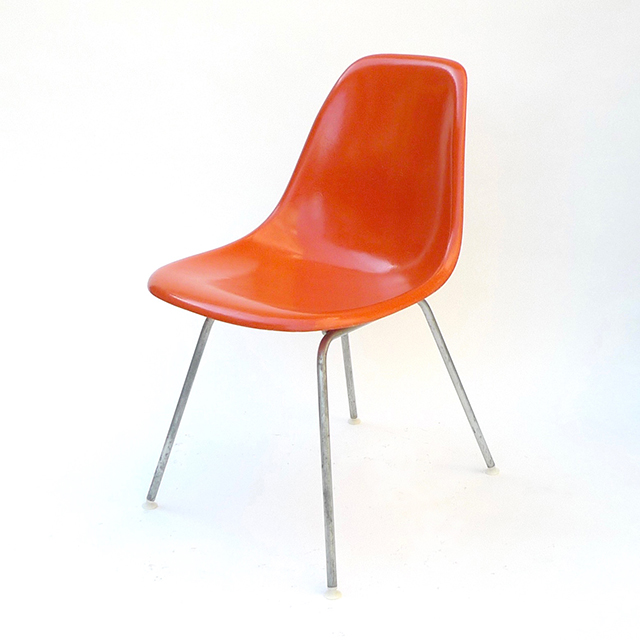 Eames Plastic Side Chair H-Base (1953) OR17H