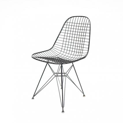 Eames Wire Mesh Chair Eiffel Base(1951) #3