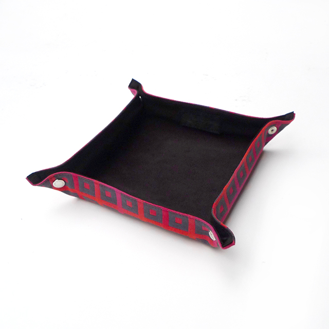 Travel Tray-Square Dot