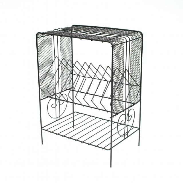 Vintage Wire Shelf #2