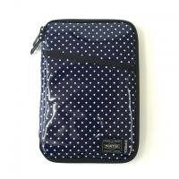 Navy Enamel Dot Terminal Case-All in One