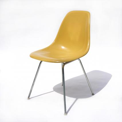 Eames Plastic Side Chair H Base (1953) MU02H