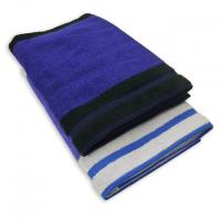 Panel Border Bath Towel