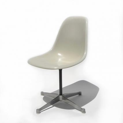 Eames Plastic Side Chair H-Base (1953) WH08C