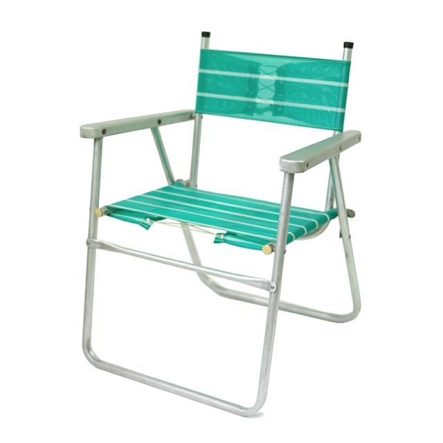 Vintage Folding Chair-Green