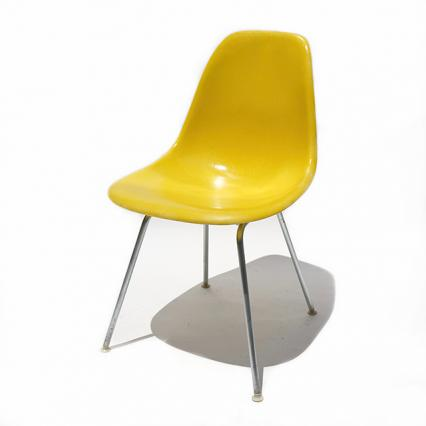 Eames Plastic Side Chair H-Base (1953) YE04H