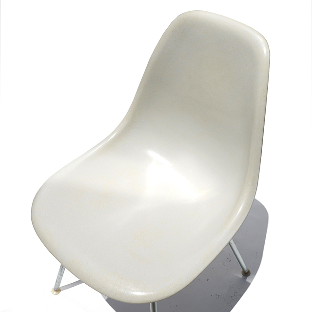 Eames Plastic Side Chair H-Base (1953) WH02H