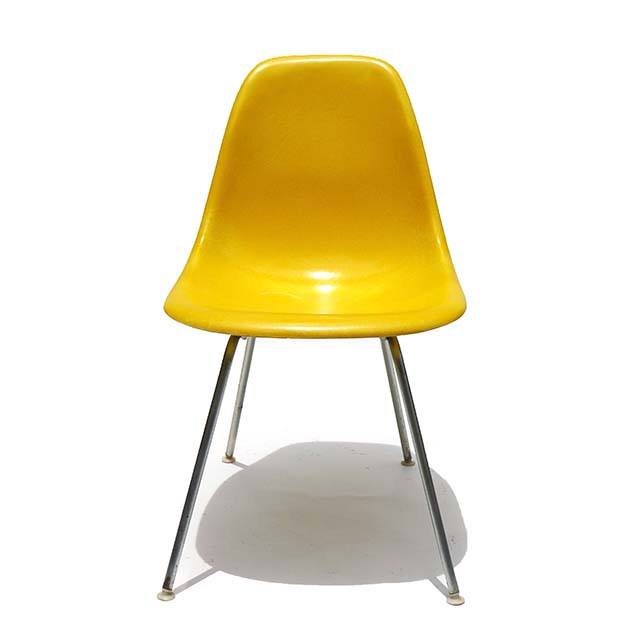 Eames Plastic Side Chair H Base (1953) YE07H