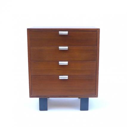 George Nelson Basic Cabinet Series-4701 Wood Leg -