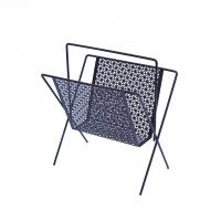 Vintage Wire Magazine Rack#6