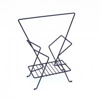 Vintage Wire Magazine Rack#7