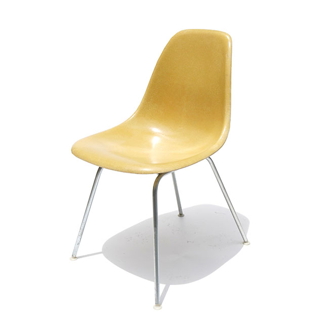 Eames Plastic Side Chair H Base (1953) MU01H