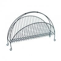 Vintage Wire Magazine Rack#2