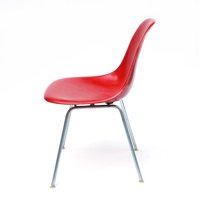 Eames Plastic Side Chair H-Base (1953) CN02H