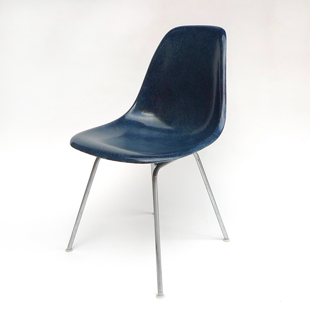 Eames Plastic Side Chair H-Base (1953) NB01H