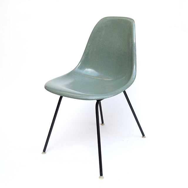 Eames Plastic Side Chair H Base (1953) SG01H