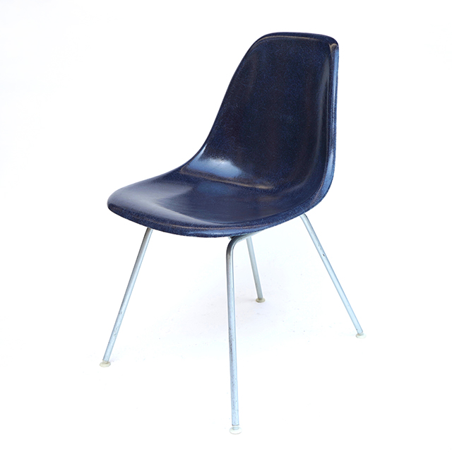 Eames Plastic Side Chair H-Base (1953) NV01H