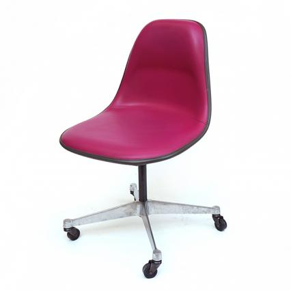 Eames Plastic Side Chair-PSCA Pink (1970)