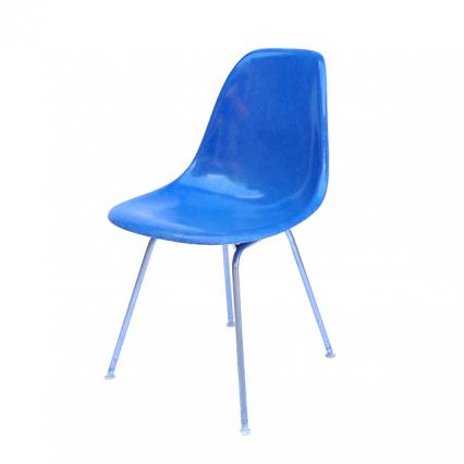 Eames Plastic Side Chair H-Base (1953) BL02H
